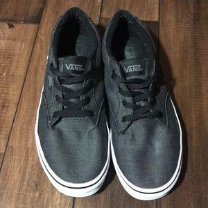 Boys Vans gray sneakers